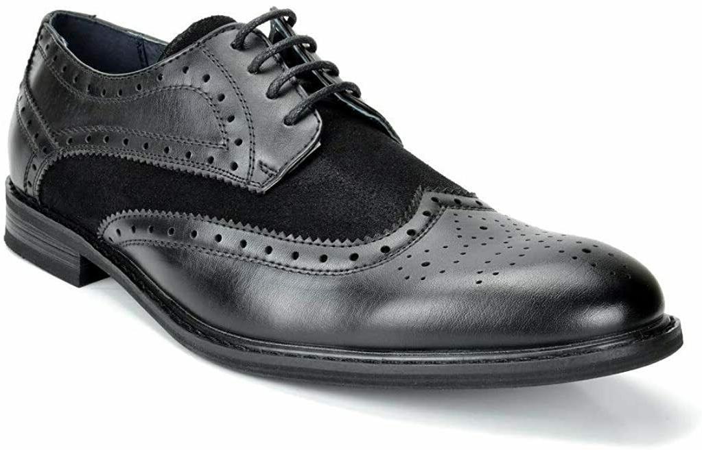 bruno marc men s dress shoes wingtip