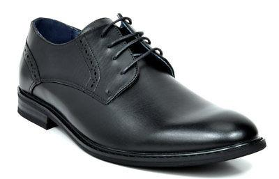 Up Brogue Oxford Shoes Black