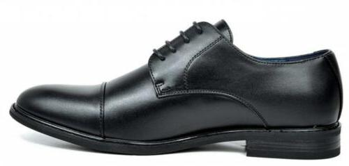 Bruno Marc Men's Prince Leather Dress Shoes