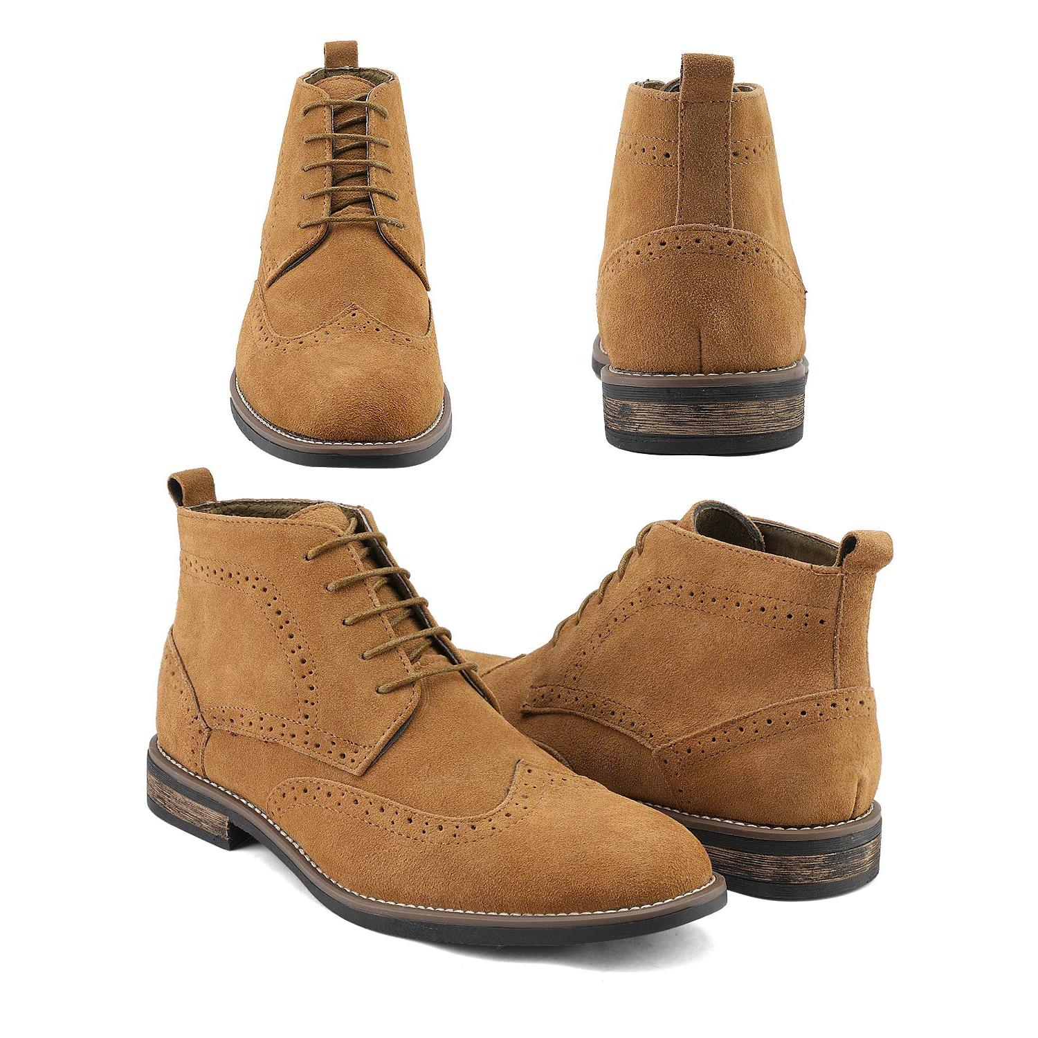 Tan Suede Size ..