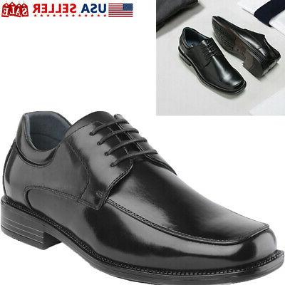 bruno marc mens leather shoes formal lace