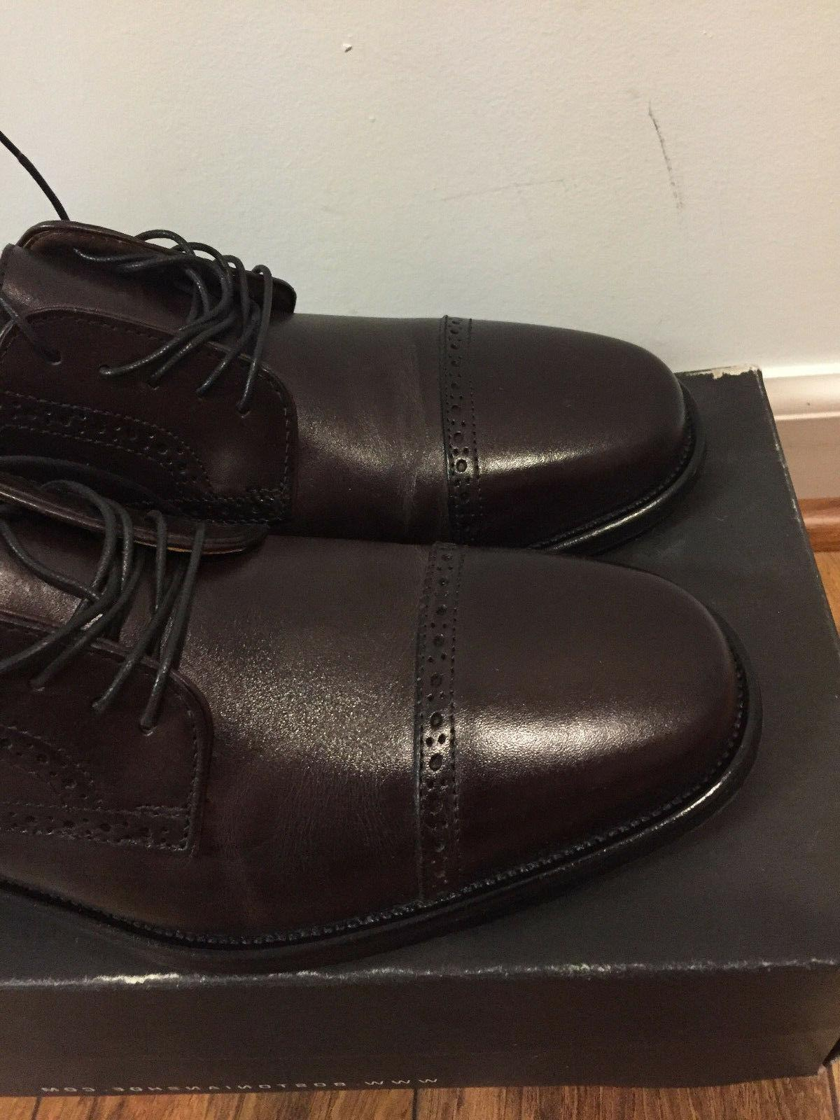 Bostonian Burgundy Leather Oxford Dress 24017,