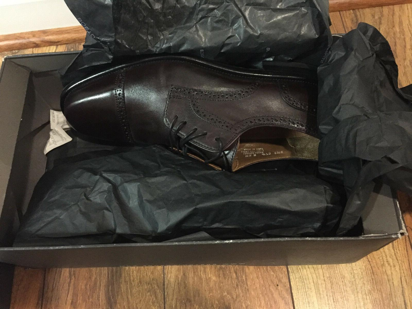 Bostonian Burgundy Brown Oxford Dress 24017, Size 11.5
