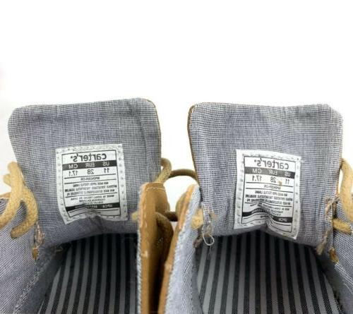 CARTERS Size Beige Spencer Dress Loafers