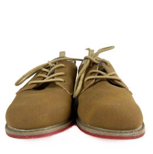 CARTERS Boys Size Tan Loafers EUC