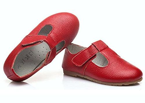 T-Shaped Shoes Red M