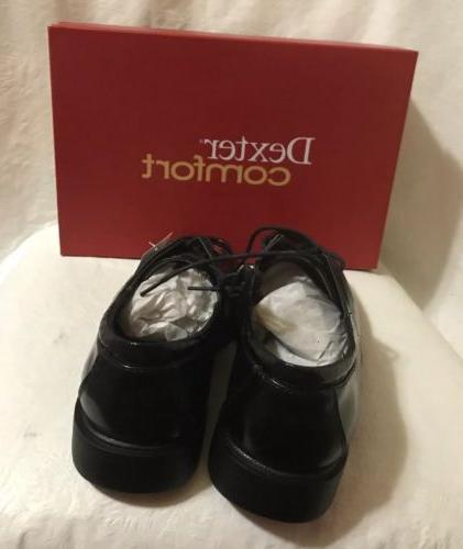 Dexter Black Oxford Shoes Size 6.5 NEW