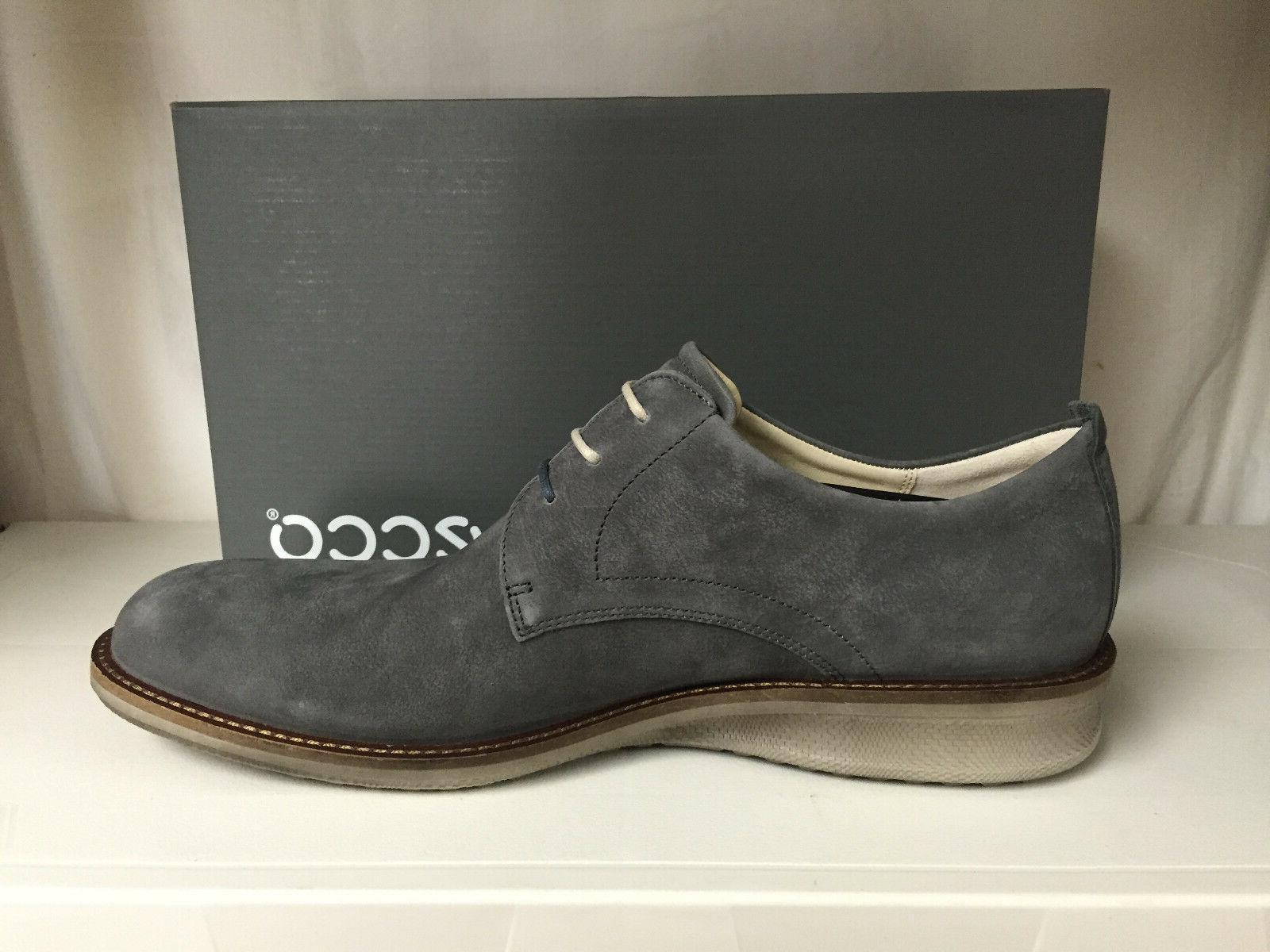 Ecco Contoured Men's Toe Oxfords Leather Dress
