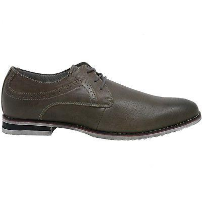 Double Swiss Mens Lace-Up Oxford