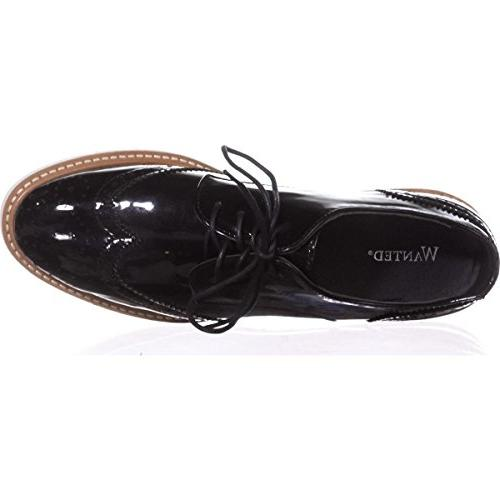 Wanted Womens Black Patent -