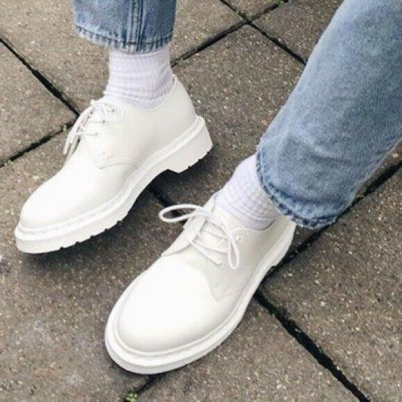 dr doc martens mono 1461 smooth leather