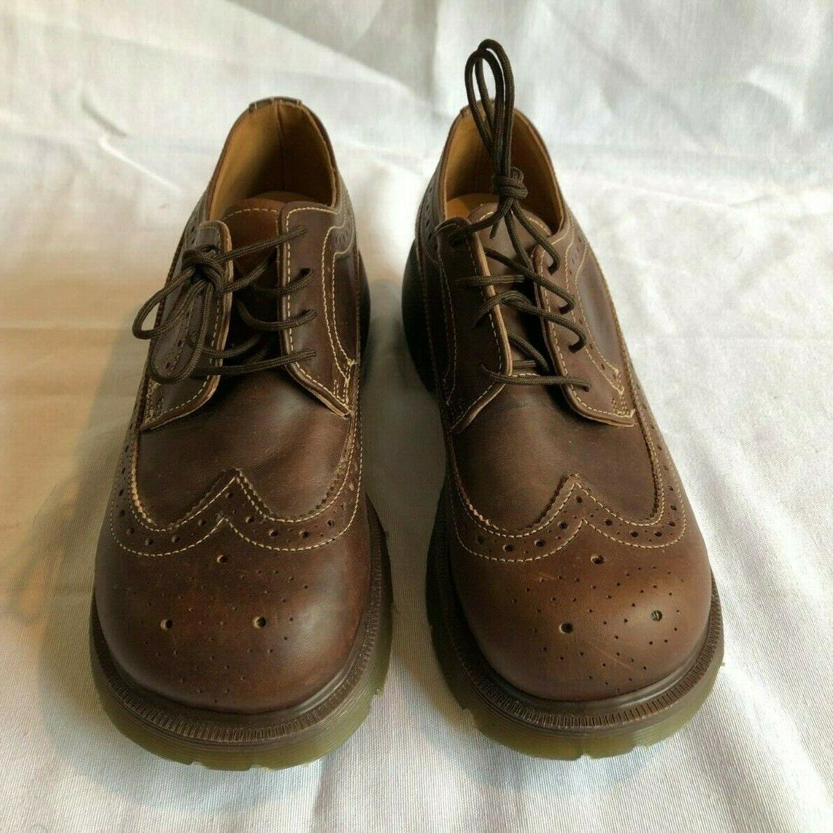 DR Leather Wingtip Shoes AW04 US Womens 6