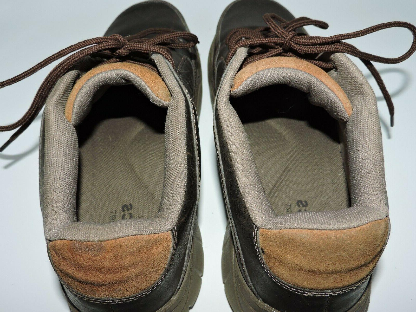 Crocs Mens Lace Up Shoes Brown Size