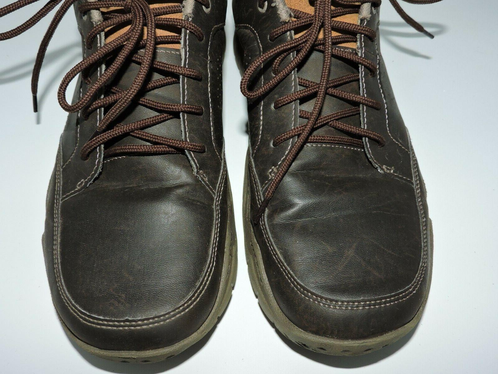 Crocs Lace Up Shoes Brown 13