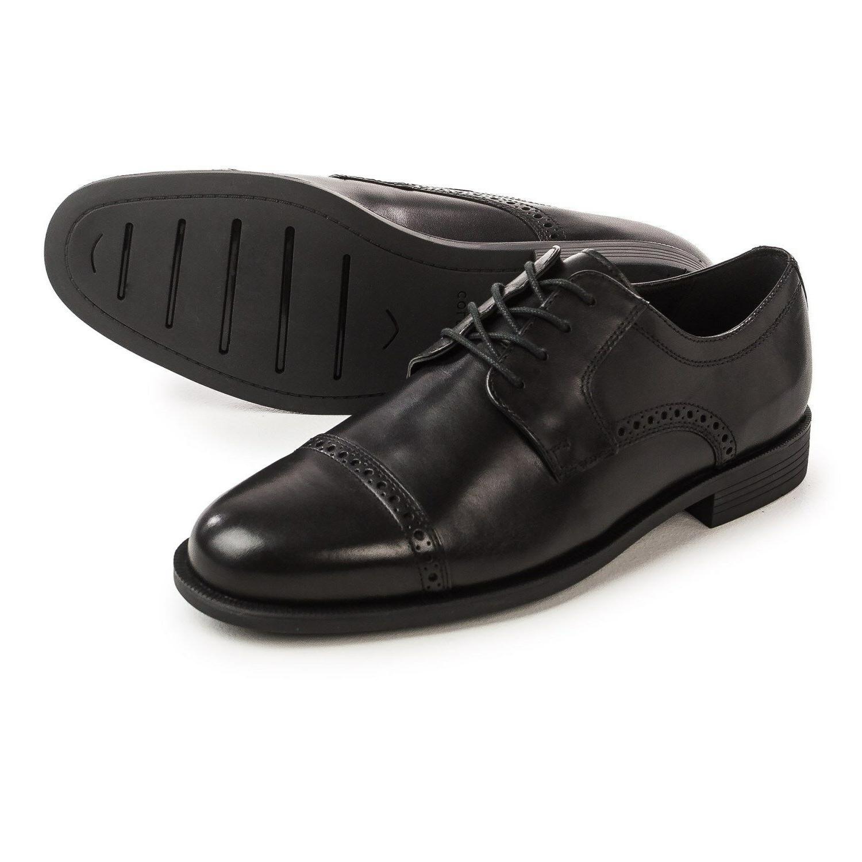 dustin oxford shoes leather men black 11