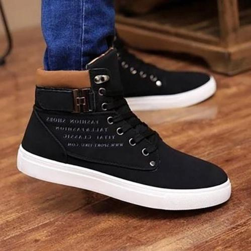 Fashion Mens Oxfords Casual High Shoes