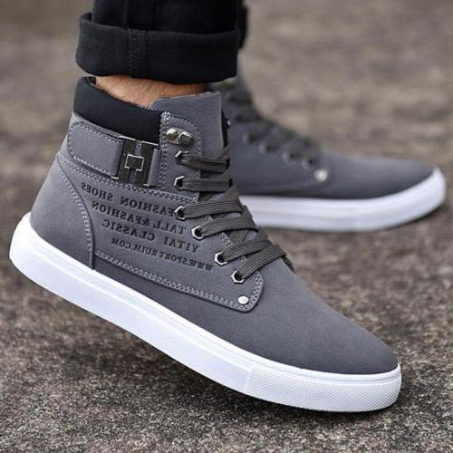 Fashion Mens Oxfords Shoes Canvas Sneakers