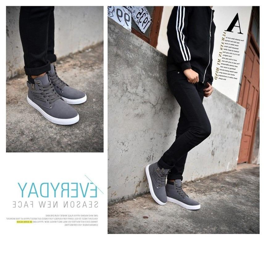 Fashion High Top Shoes Canvas New