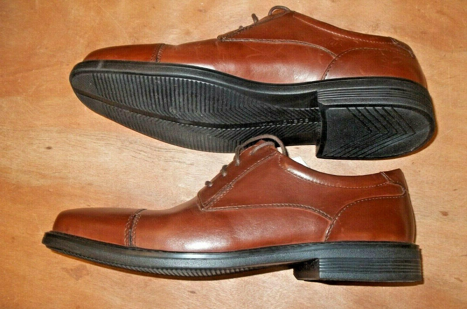 BOSTONIAN Oxford Shoes Leather Lace Size 10 Brown New