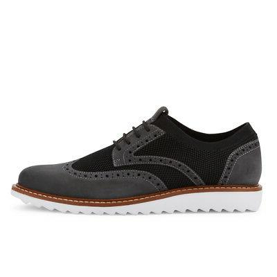 G.H. Wingtip Knit Lace-up Oxford Shoe