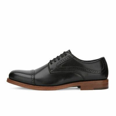 Mens Genuine Dress Cap Toe Oxford Shoe