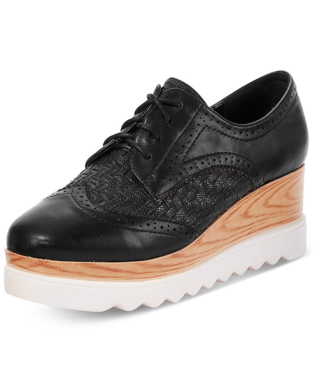gallaway lace up hidden heel platform wedge