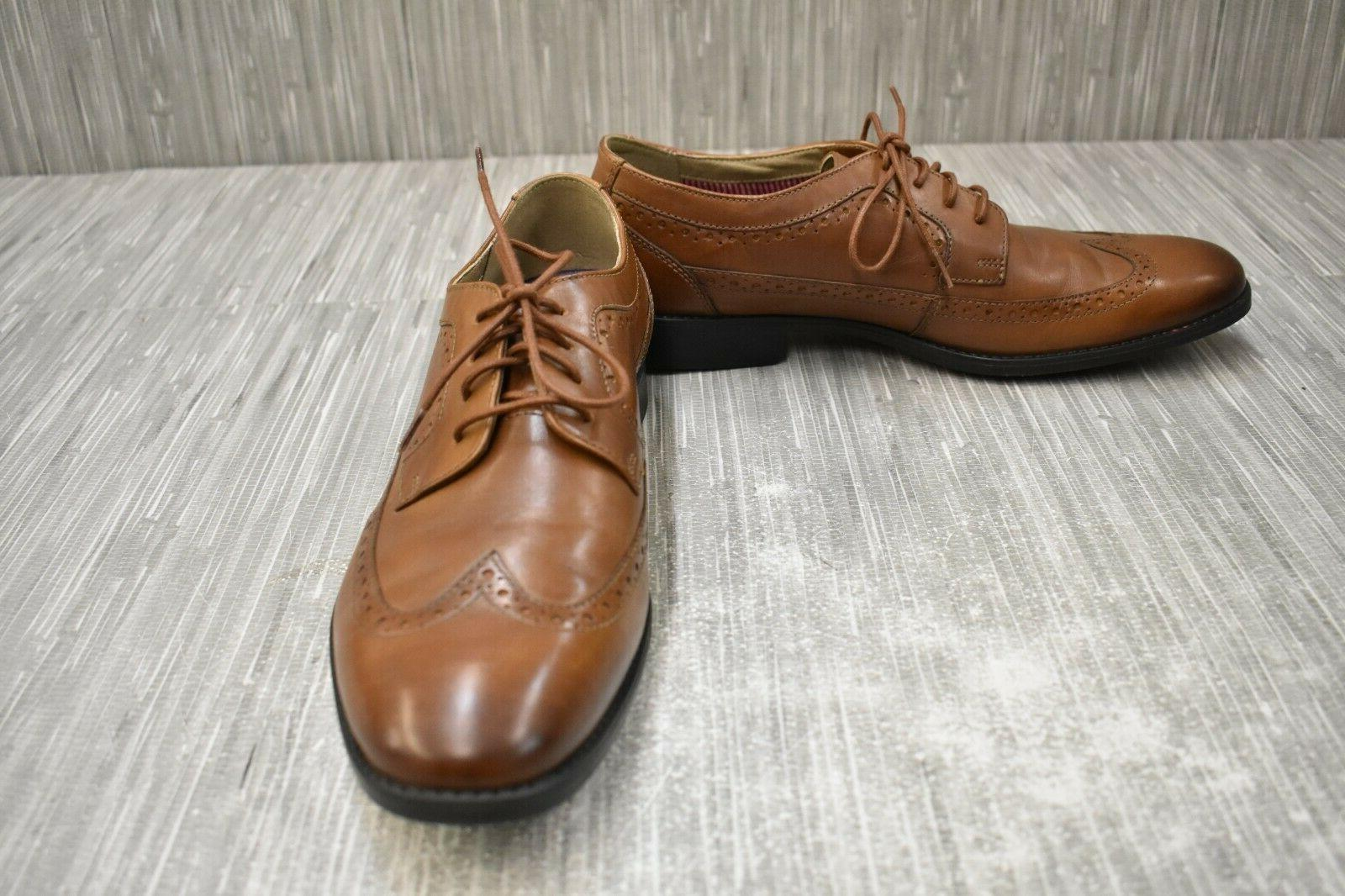 garian wing oxford dress shoes men s