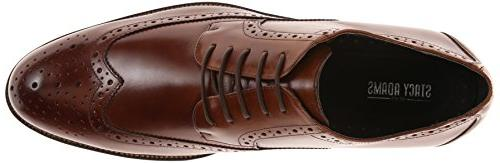 Stacy Adams Wing Tip Oxford Shoes -