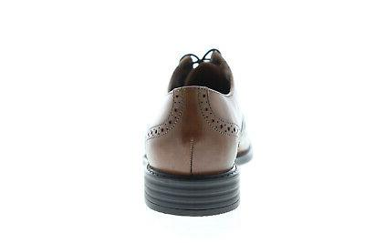 Bostonian 26119386 Mens Brown Leather Lace Shoes