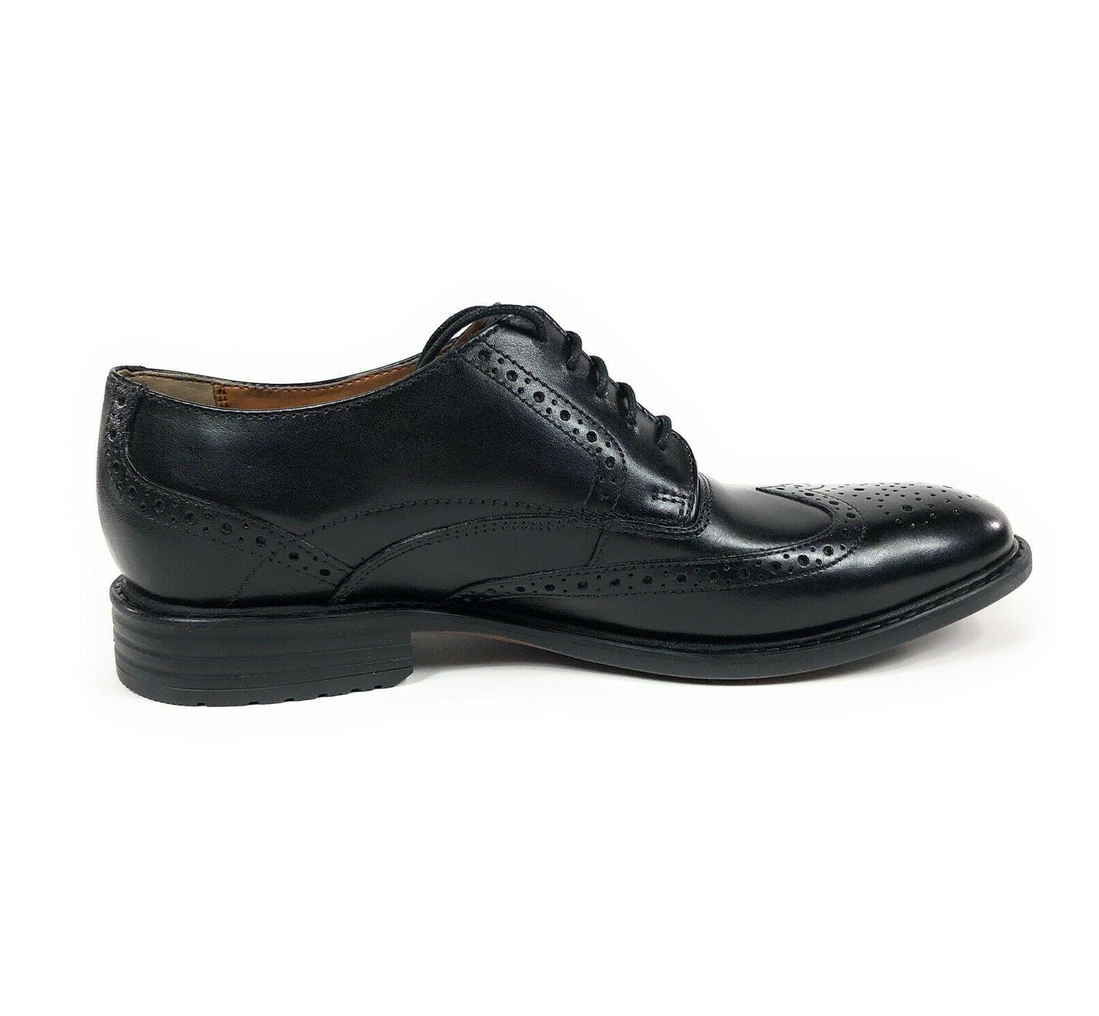 Bostonian Edge Oxford Wingtip Leather Dress Size 11