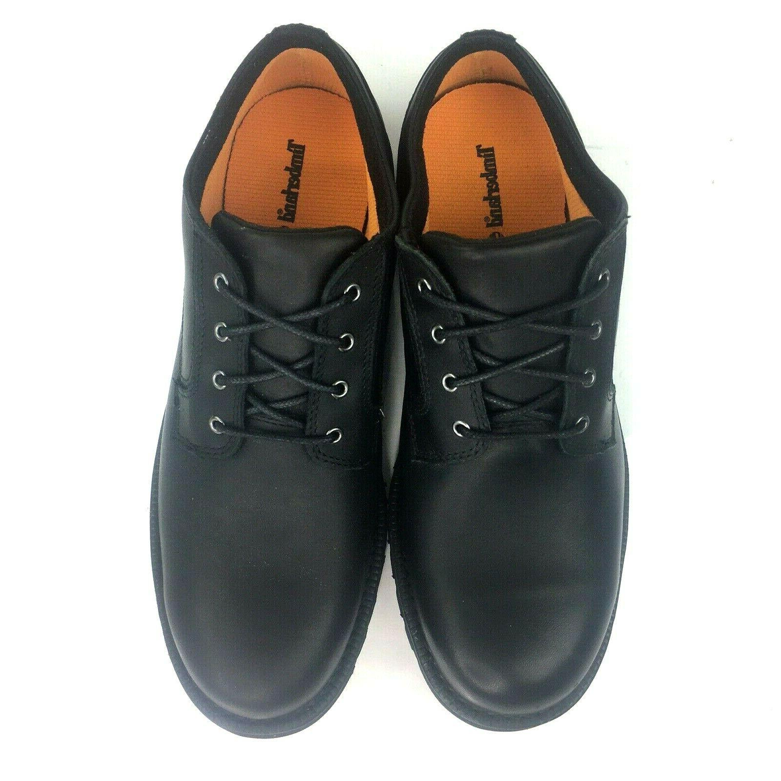 Timberland Black Leather Up
