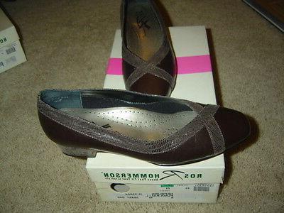 Ros Hepburn Women's Shoes Size 6 Medium Brown NEW