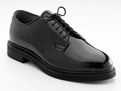 high gloss militay unifom oxfod dess shoes