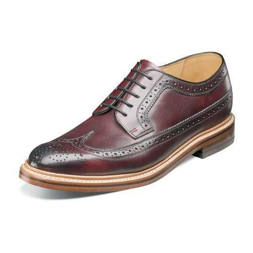 Florsheim Imperial Kenmoor II Men's Shoes Burgundy Wingtip O