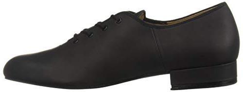 Bloch Men's Jazz Oxford Shoe, Black,