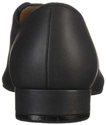 Bloch Men's Oxford Suede Shoe, Black, 10.5