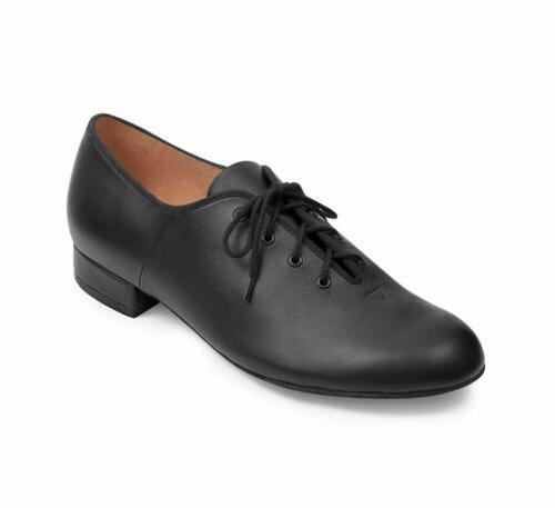 jazztime men s black oxford character shoe