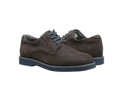 Florsheim Kearny JR Boy's Oxford Chocolate Suede Casual Shoe