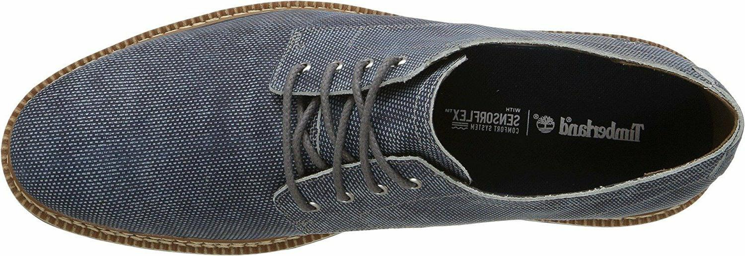 Timberland Kendrick Cap Oxford Shoes Casual NEW Blue