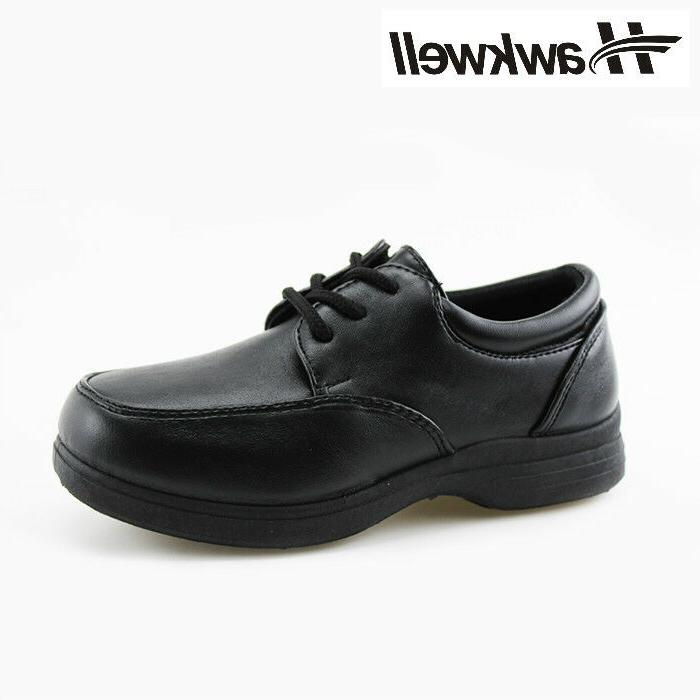 Hawkwell Kids Lace up Uniform Shoes