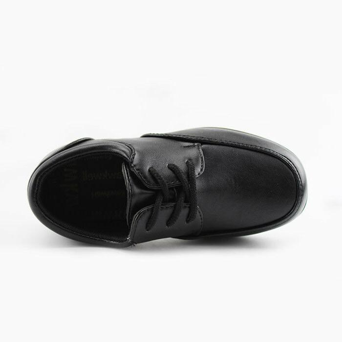 Hawkwell Kids Boys Lace Shoes Black Sneakers