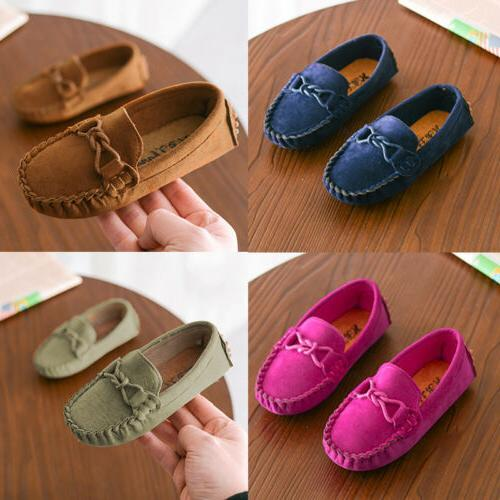 Kids Boys Loafers Shoes Moccasins