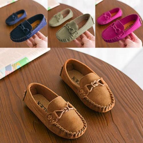 Kids Loafers Oxford Shoes Moccasins