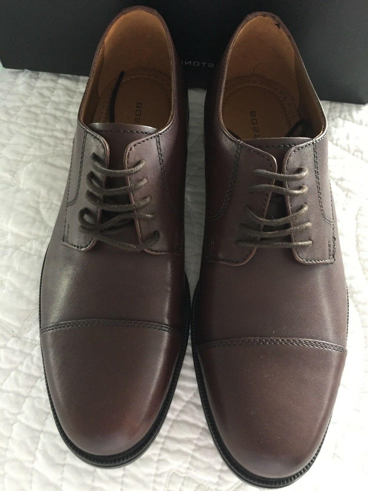 kinnon cap lace up oxford shoes leather