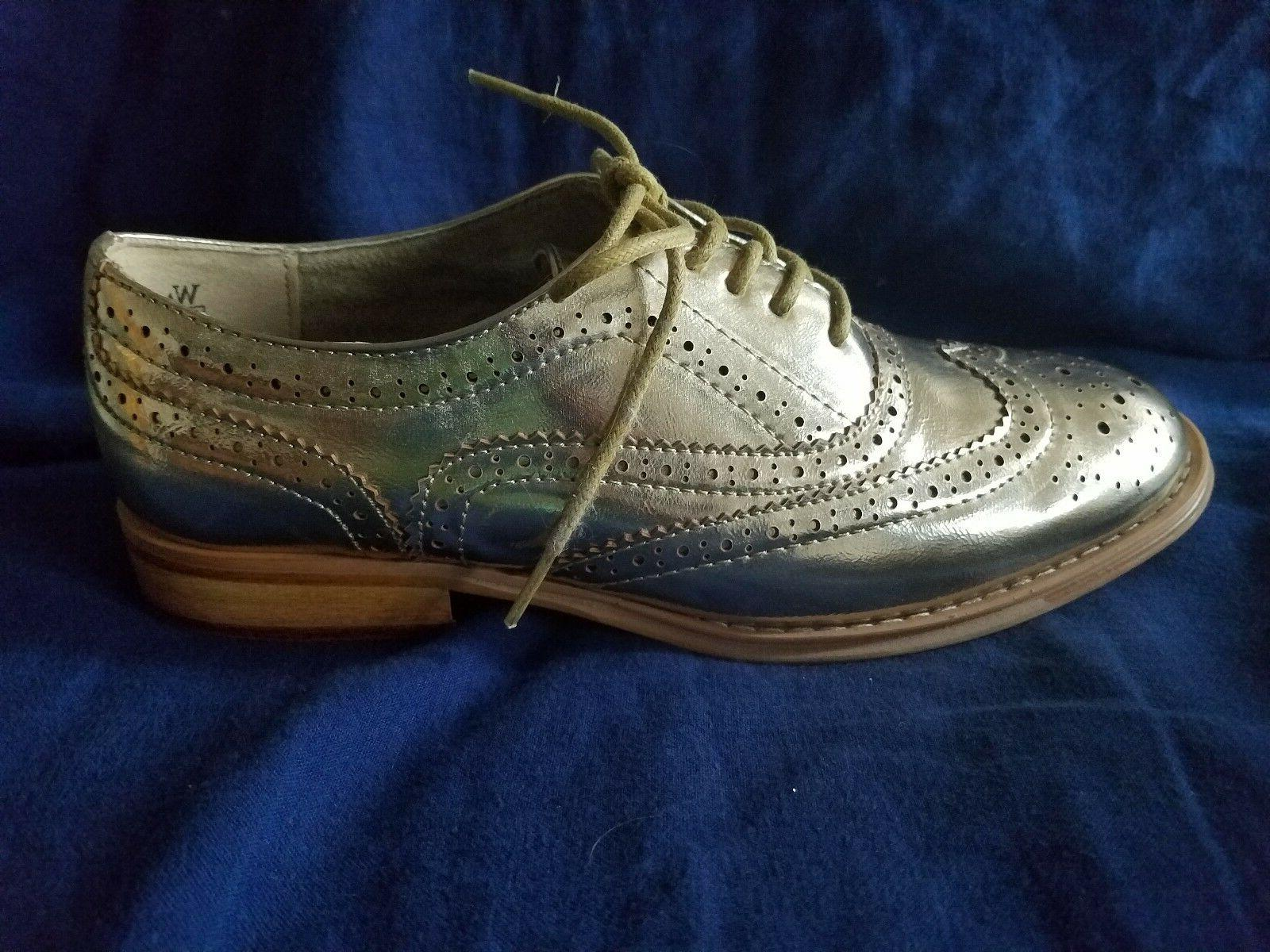 Ladies Wingtips Oxford Shoes by 6.5M