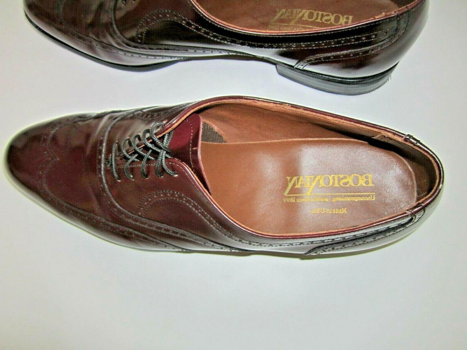 Leather Wingtip Oxford 10.5 Made in