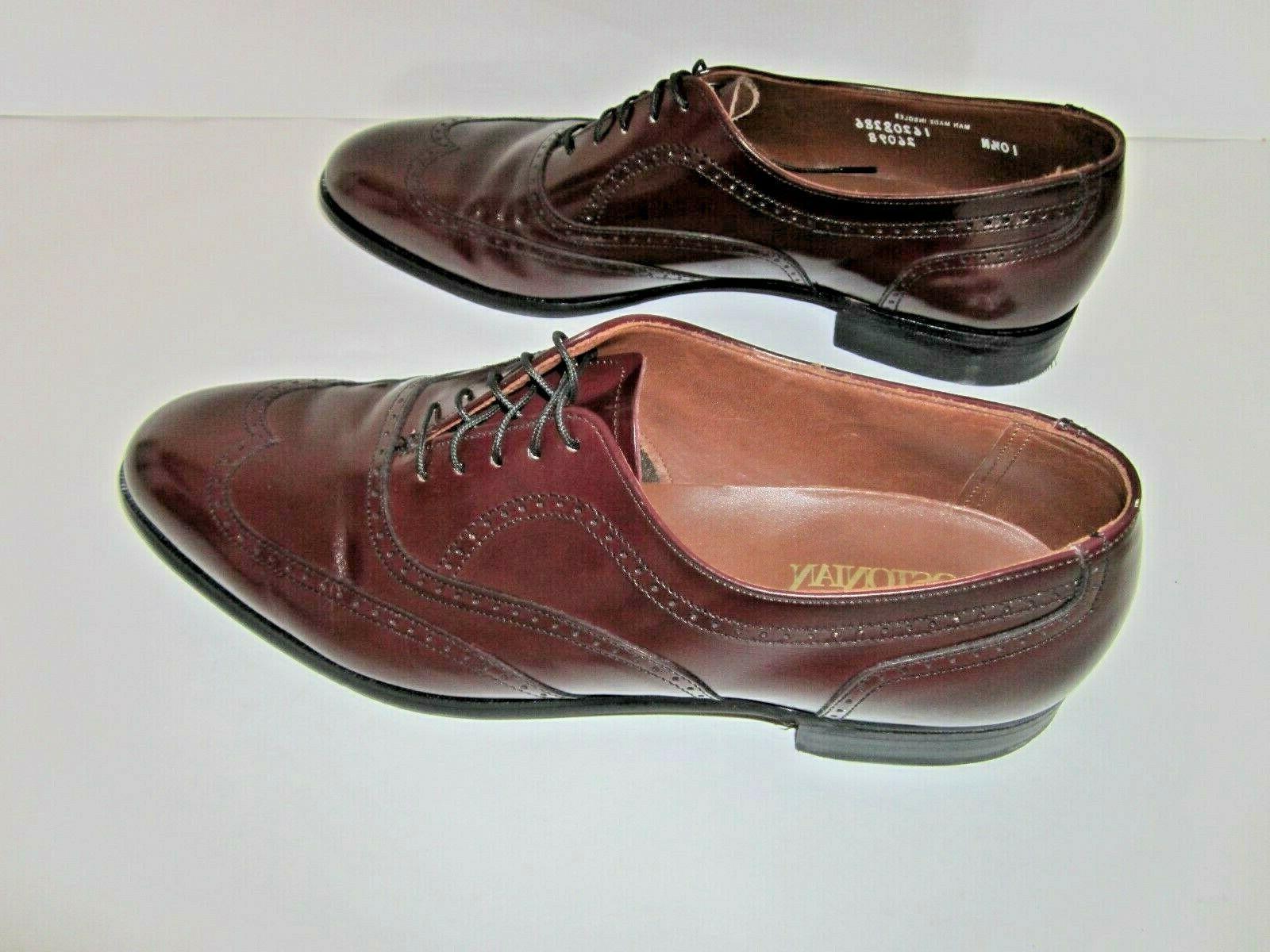 Wingtip Shoes 10.5 in