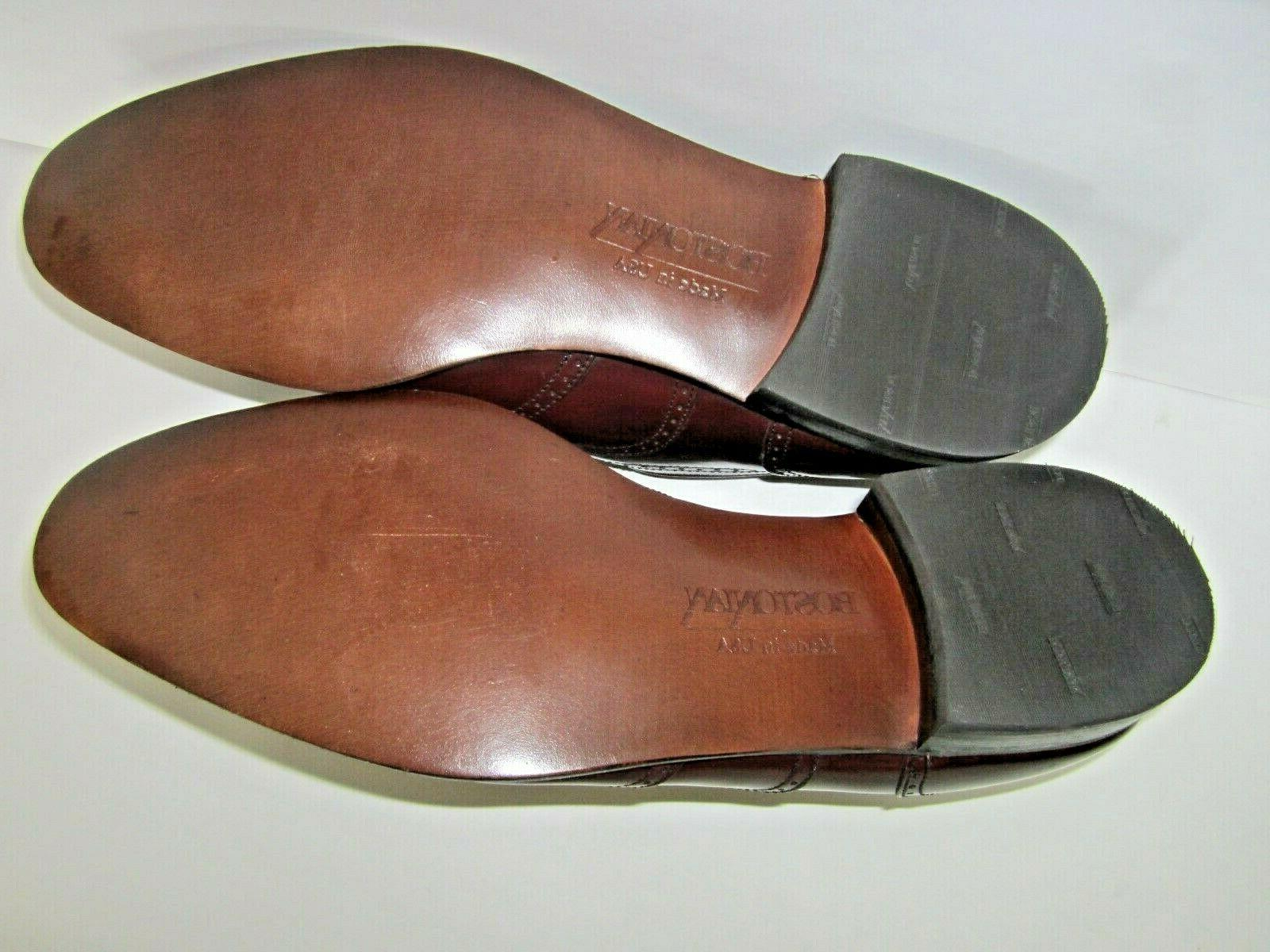Leather Wingtip Oxford Shoes 10.5 N in