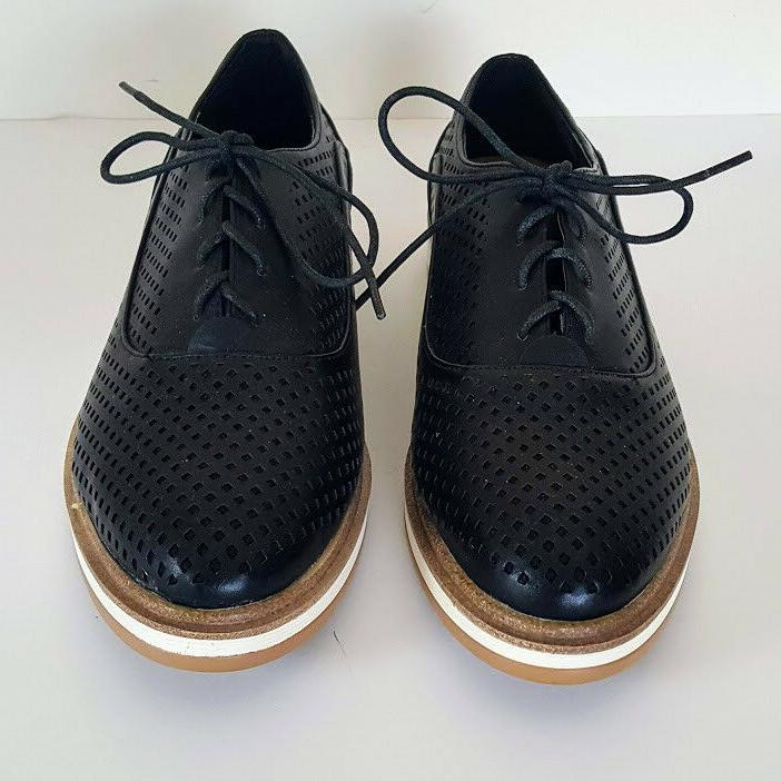 Wanted MacDaddy Lace Oxford Shoes Women's Size 9 Leather