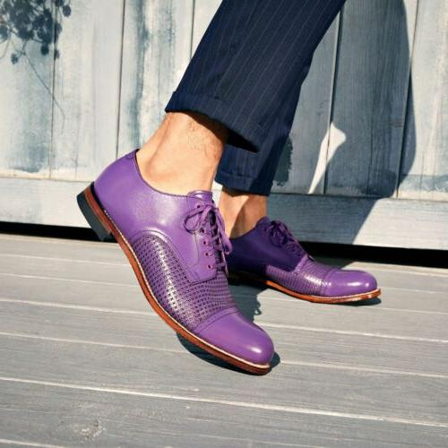 Stacy Cap Oxford Shoes